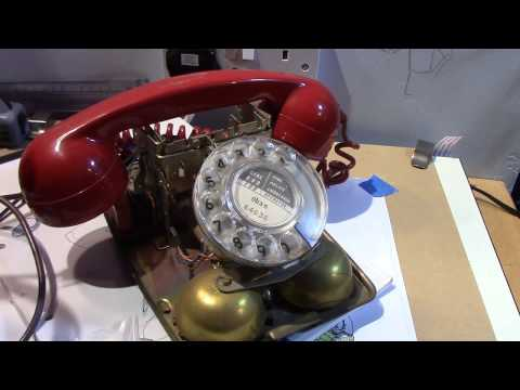 Converting An Old GPO 700 Series Rotary Dial Telephone to Work on a Modern Line.