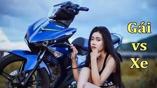 Ngắm Xe Hay Ngắm Gái Đây - Con Gái Chạy Xe Côn Tay | Minh Motor