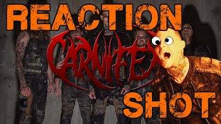 Reaction Shot Carnifex - World War X