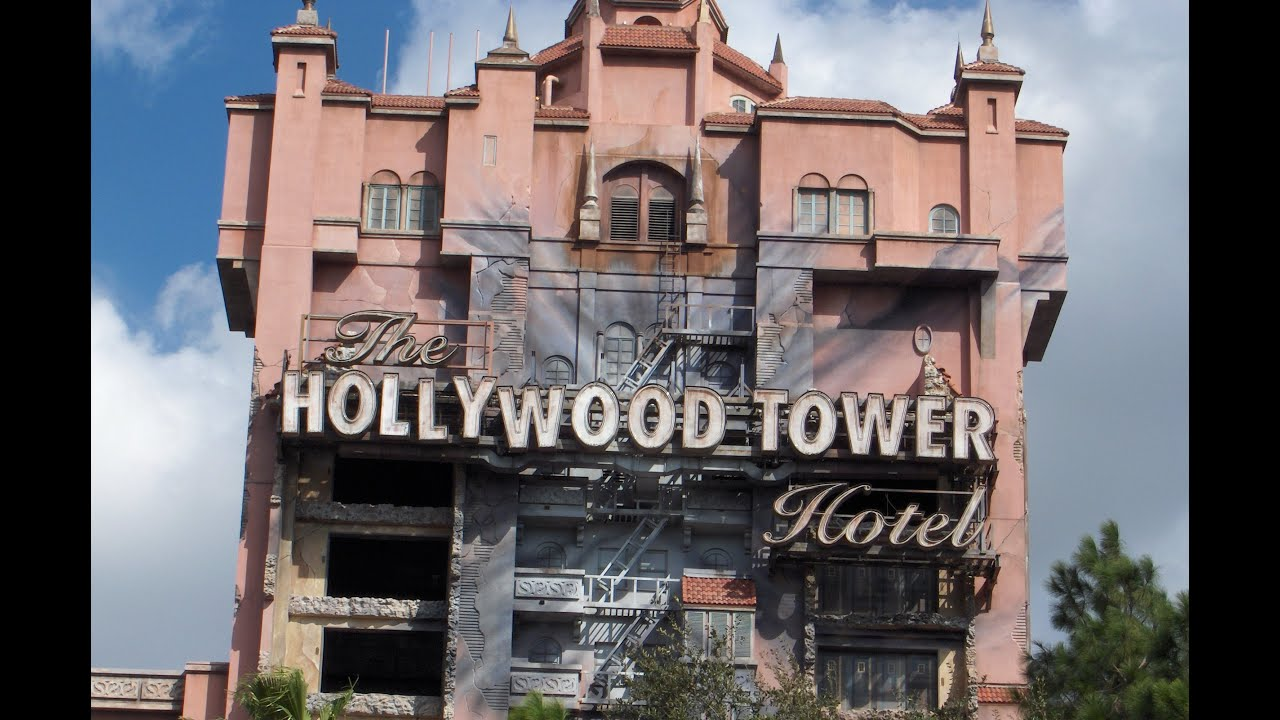 Twilight Zone Tower of Terror - Disney MGM Studios (POV ...