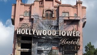 Twilight Zone Tower of Terror - Disney MGM Studios (POV)