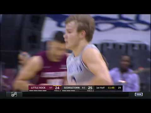 Georgetown vs. University of Arkansas-Little Rock Highlights: #BIGEASThoops