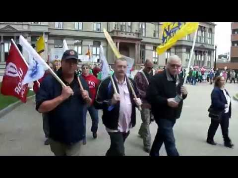 Rally for CUPE Water Workers Locked Out By Halifax Water