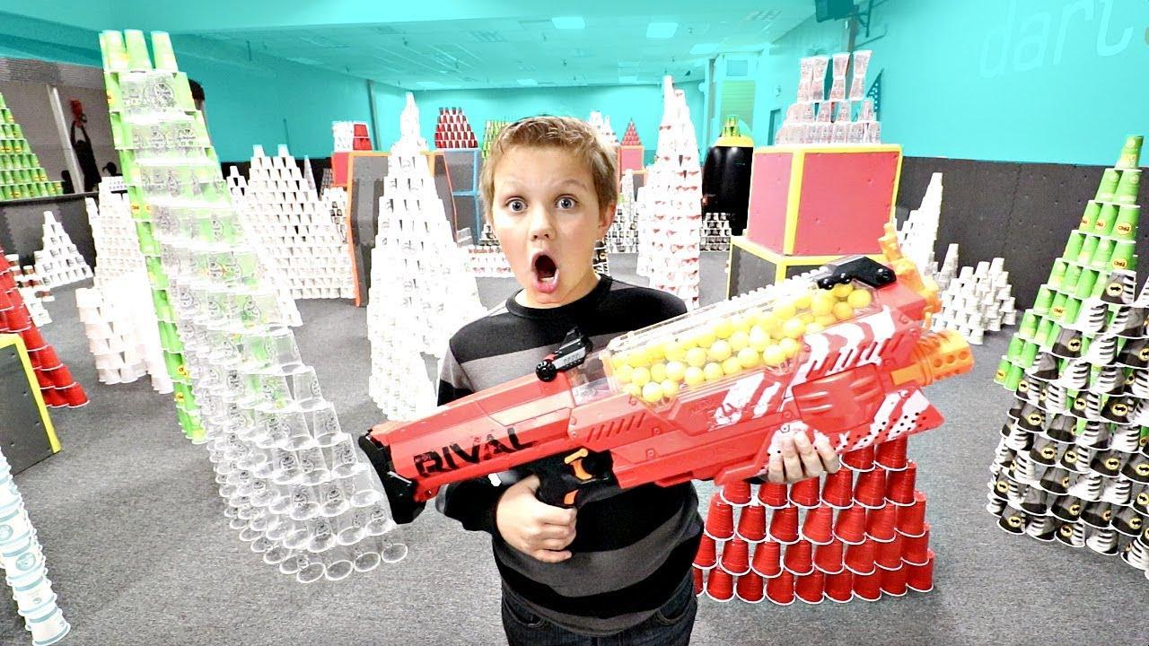 nerf-vs-20-000-cups-super-crazy