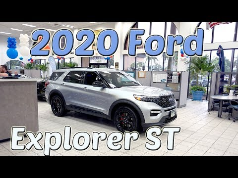 The all new 2020 Ford Explorer ST