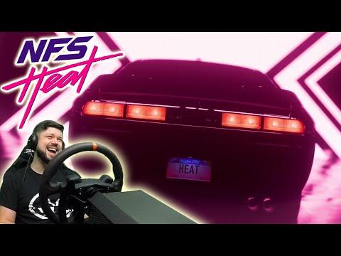 Need For Speed Heat - фармим тачки и угараем с копов :)