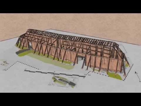 Viking Longhouse construction