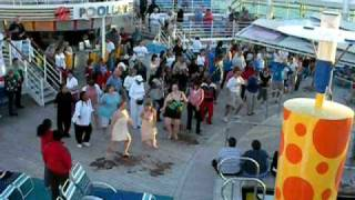 Cupid Shuffle on a Royal Caribbean Cruise Ship