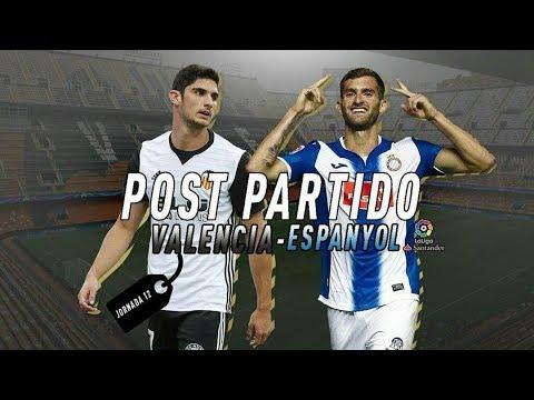 POST PARTIDO ESPANYOL-VALENCIA / JORNADA 12 LA LIGA SANTANDER