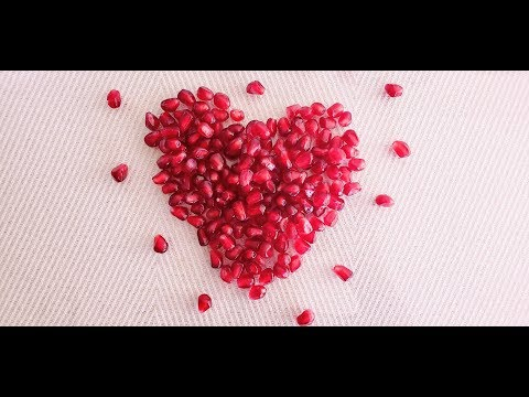 How to deseed a pomegranate fast!