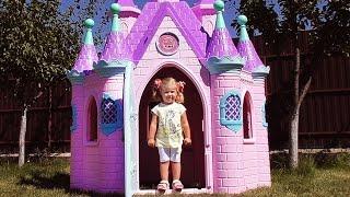 СУПЕР ЗАМОК ПРИНЦЕССЫ Большой Игрушечный Домик Игры Для Девочек Disney Princess Play Castle Toys