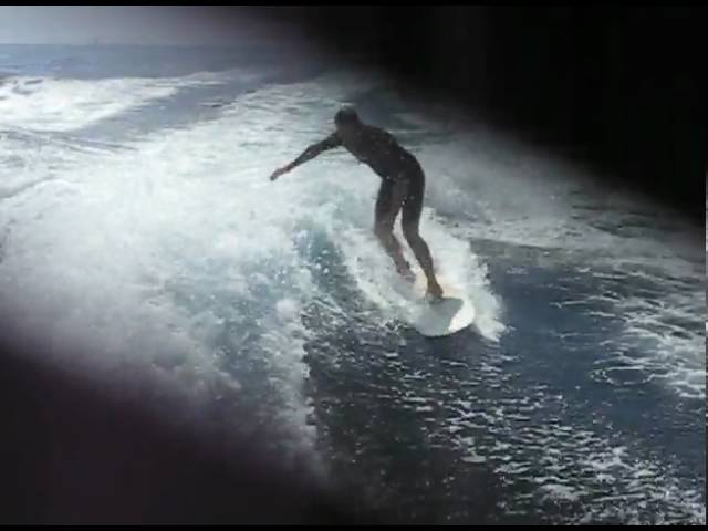 John Wake Surfing Catalina