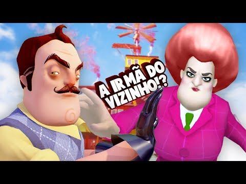 A NOVA VIZINHA!!! A IRMÃ DO VIZINHO! | Hello Neighbor (iOS/Android)
