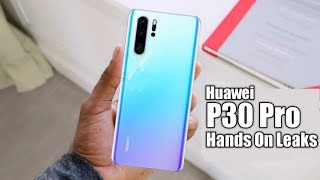 Huawei P30 Pro Hands On Video, P30 & P30 Pro Price Confirmed