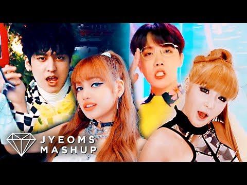 BTS, BLACKPINK, 2NE1, IKON - IDOL / DDU-DU DDU-DU / I AM THE BEST / B-DAY  (MASHUP)