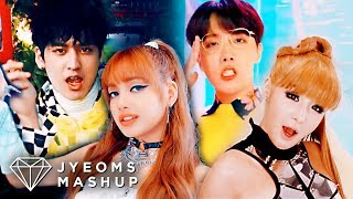 BTS, BLACKPINK, 2NE1, iKON - IDOL / DDU-DU DDU-DU / I AM THE BEST / B-DAY  (MASHUP)