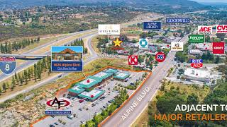 780-1,112 SF Office / Medical / Retail Available | Alpine, CA