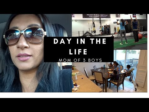 DAY IN THE LIFE OF A MOM OF 3 KIDS