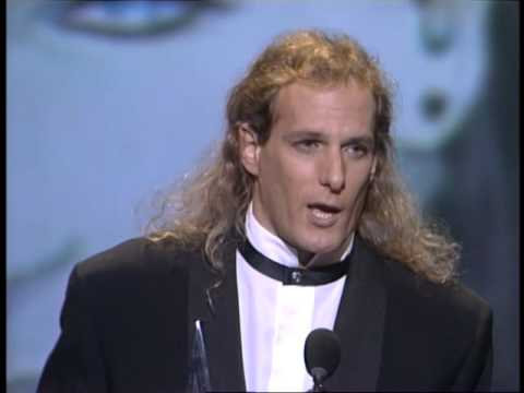 Michael Bolton Wins Pop/Rock Album - AMA 1992