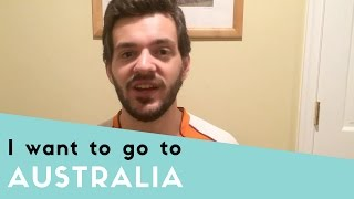 I want to visit Australia thumbnail picture.
