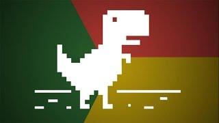 2536 RECORD en el dinosaurio de Google Chrome (Juego oculto)