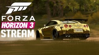 Forza Horizon 3 / კლავიატურით თამაში და გელა