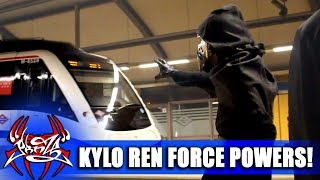 KYLO REN using THE FORCE in REAL LIFE!