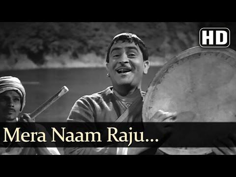 Mera Naam Raju  Raj Kapoor  Jis Desh Mein Ganga Behti Hai  Bollywood Songs  Shankar Jaikishan
