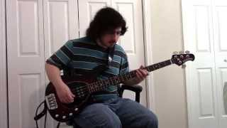 Touche Amore - To Write Content (bass cover)