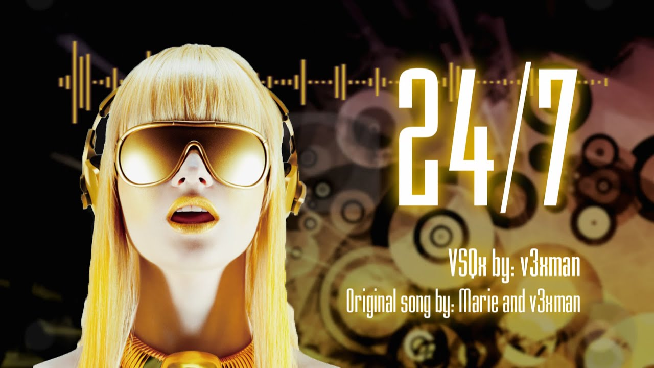 Cyber diva 24 7 vocaloid original vsqx youtube - Cyber diva vocaloid ...