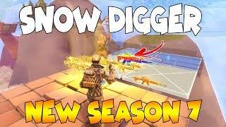 Dumb Scammer Has *NEW* SNOW DIGGER SEASON 7 GUNS!! (Scammer Gets Scammed) Fortnite Save The World