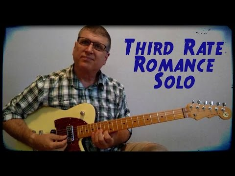 Third Rate Romance by The Amazing Rhythm Aces / Sammy Kershaw Guitar Lesson with TAB