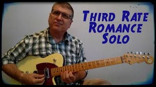 How to Play Third Rate Romance - TAB Available (Amazing Rhythm Aces and Sammy Kershaw)