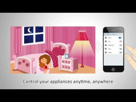 Edimax Smart Plug -  Easily switch on/off your home electronics via iPhone, iPad, Android