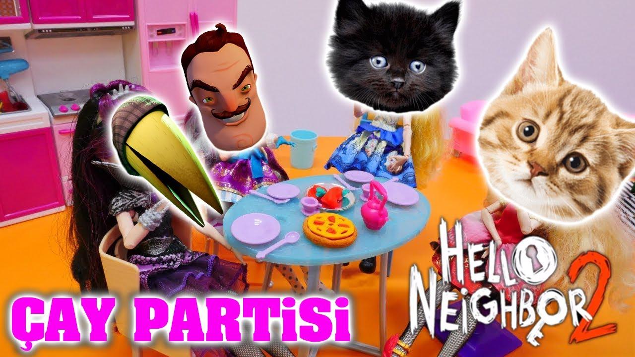 KARGA DAYIYLA ÇAY PARTİSİ YAPTIK ☕ - Hello Neighbor 2 Alpha 1