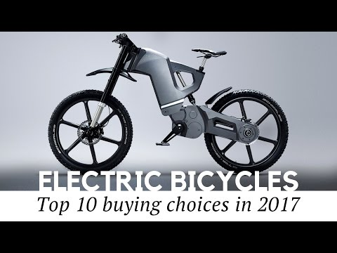 10 Best Electric Bicycles and Smart Bikes to Buy in 2017 (Review of Prices and Specs)
