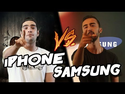 iPhone Vs Samsung | Destansı Rap Savaşları | DRS