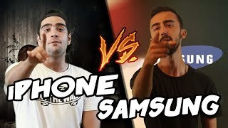 iPhone Vs Samsung | Destansı Rap Savaşları | DRS