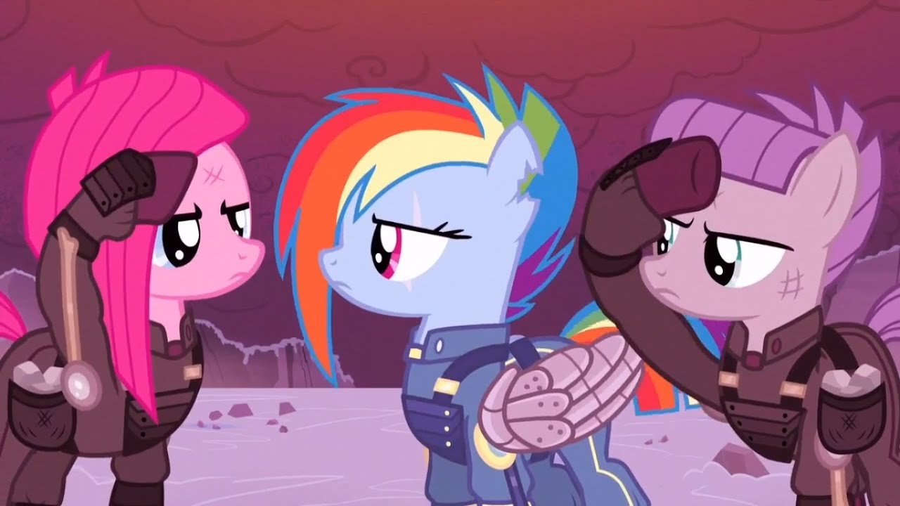 My Little Pony War Against King Sombra And The Crystal