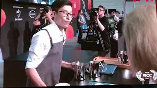 20190608陳顥元世界盃咖啡拉花比賽決賽實況