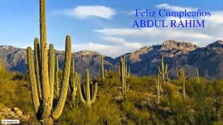 AbdulRahim   Nature & Naturaleza - Happy Birthday