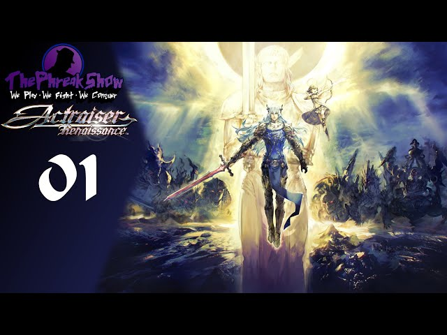 Let's Play Actraiser Renaissance - Part 1 - The Lord Of Light!