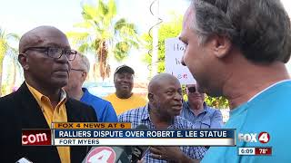 Groups clash over Lee monument in Fort Myers