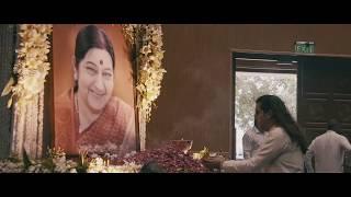 Paying Tribute to Smt. Sushma Swaraj ji 🙏🏻🙏🏻