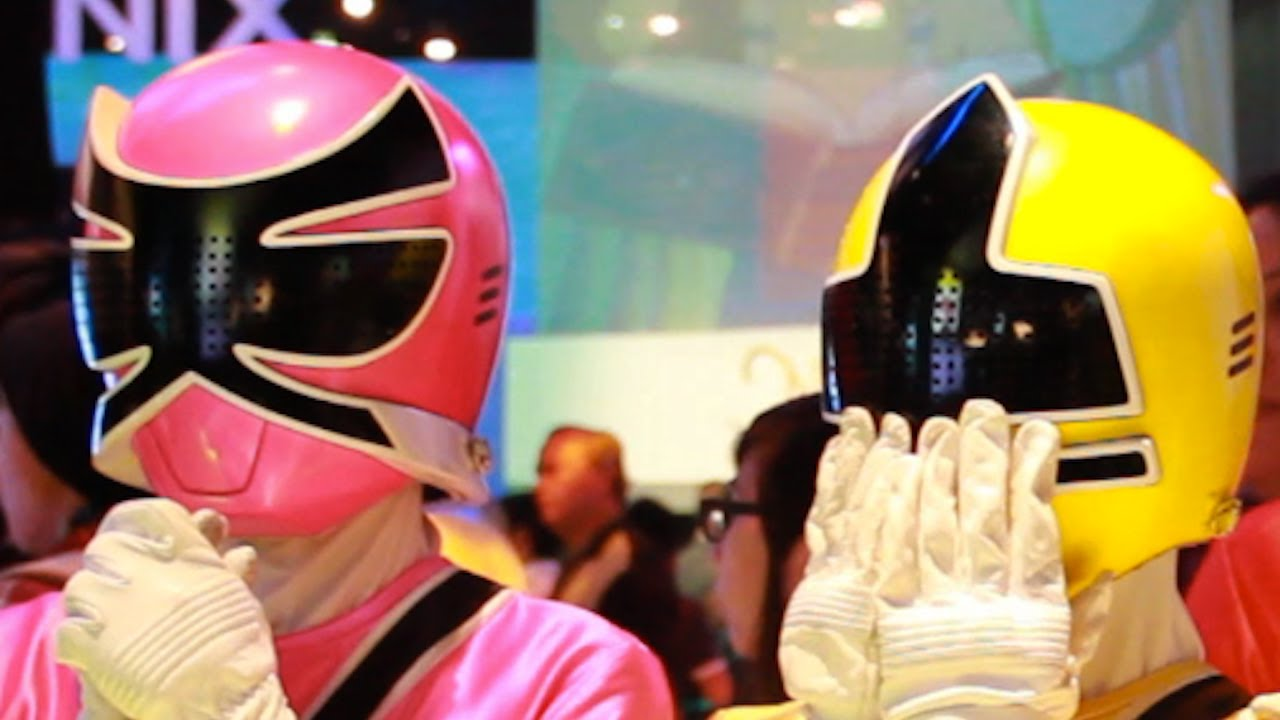 power rangers dance party youtube