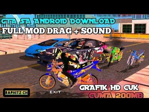 Cara Download GTA SA Di Android | Full Mod Drag