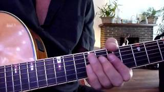 How to play : Dire Straits - Calling Elvis - guitar solo / riff