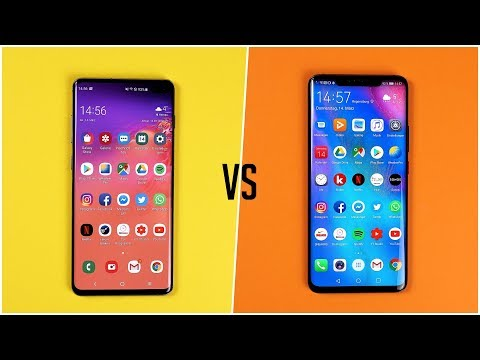 Samsung Galaxy S10+ vs. Huawei Mate 20 Pro (Deutsch) | SwagTab