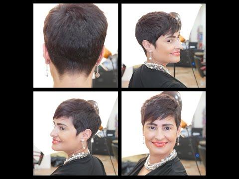 Women's Bob Haircut Tutorial