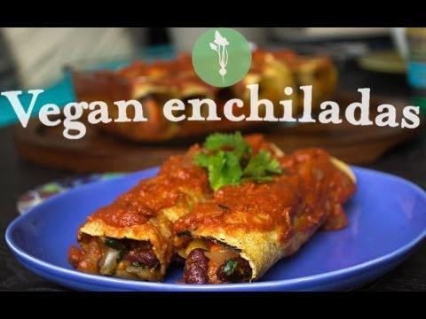 Vegan Butternut Squash Enchiladas